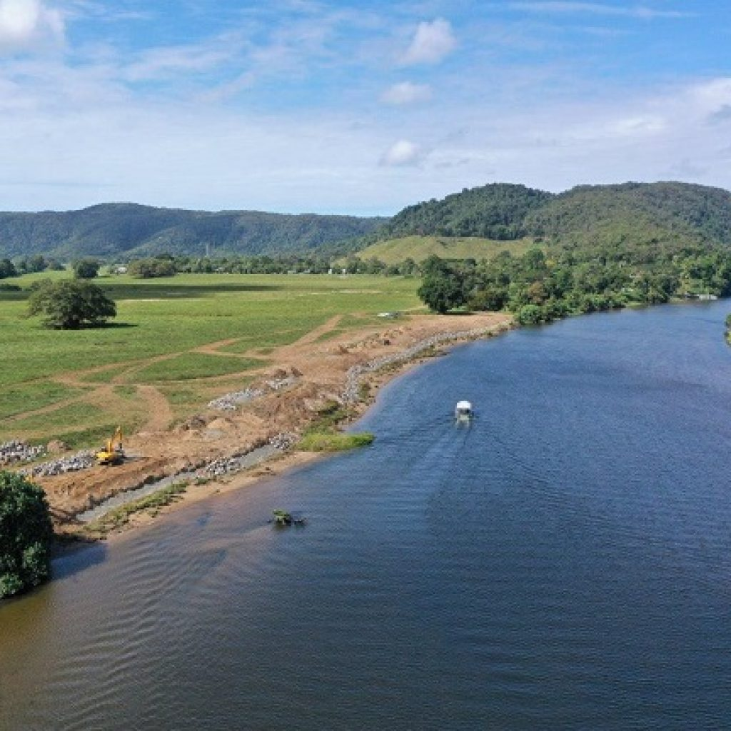 Daintree River erosion control