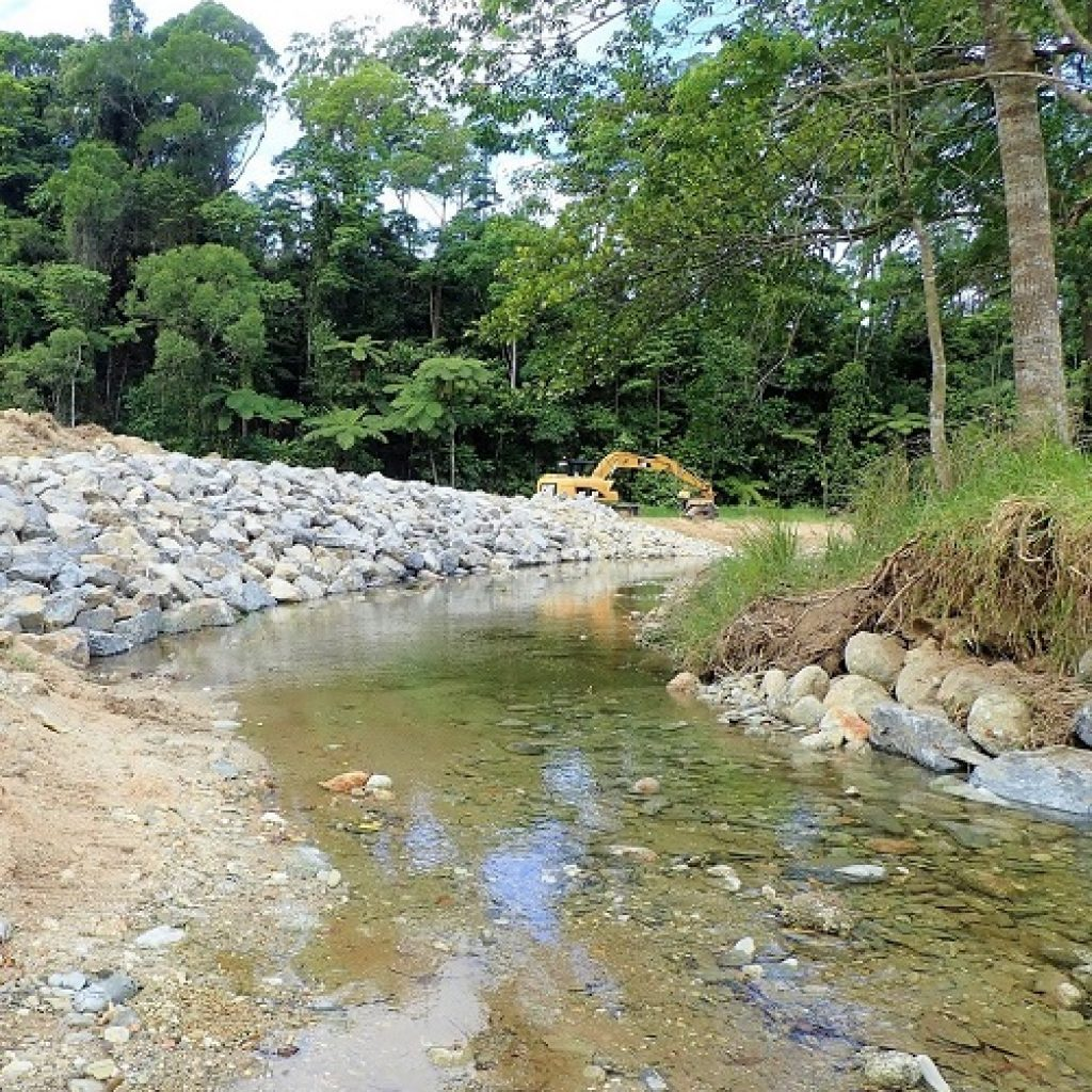Restoring rivers leading up to wet season